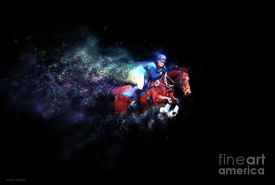 Cross Country - Colour Explosion by Michelle Wrighton