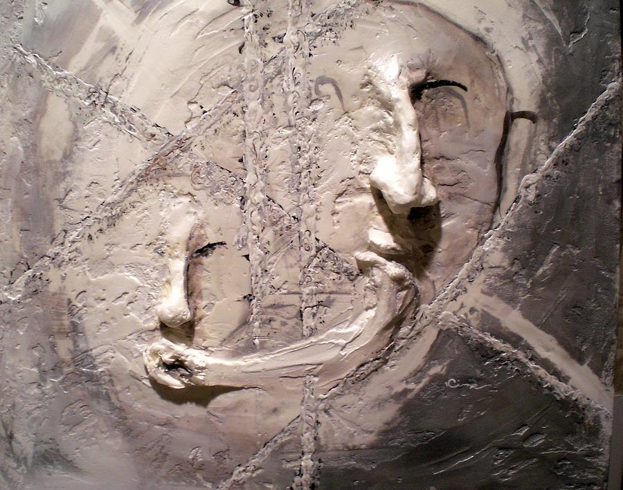 Portraits Painting - Cross Cultural by Kime Einhorn