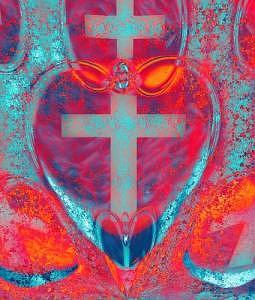Concept Photograph - Cross by Jean-Francois  Dupuis