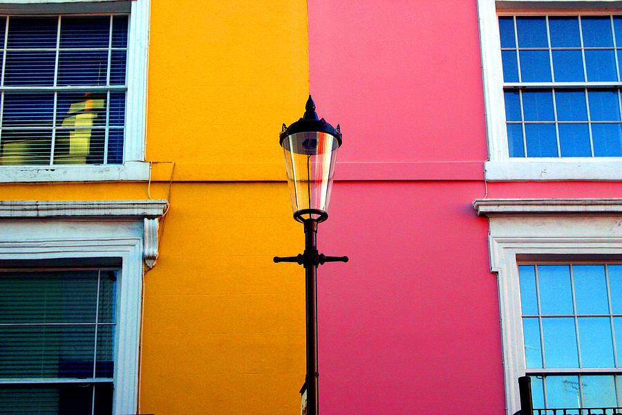 London Photograph - Cross Lamp by Jez C Self