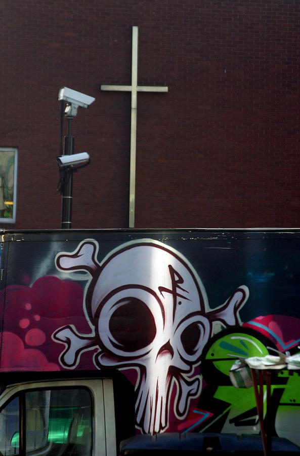 Photographer Photograph - Cross Of Death by Jez C Self