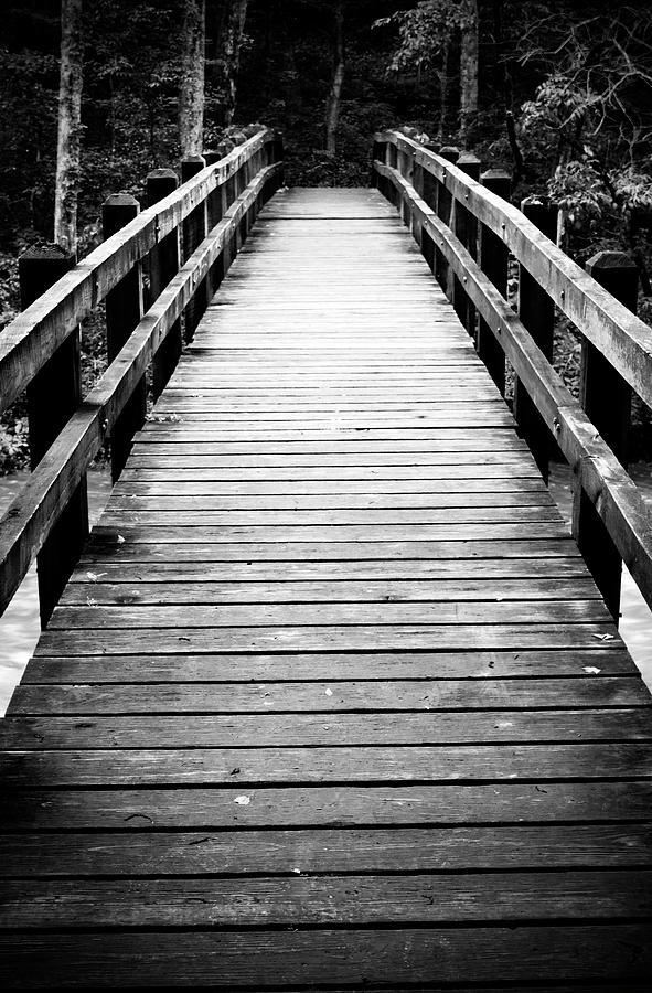 Bridge Photograph - Cross Over by Adam Murray