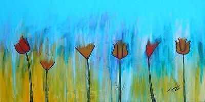 Cross Pollination Painting by Liz Watkins