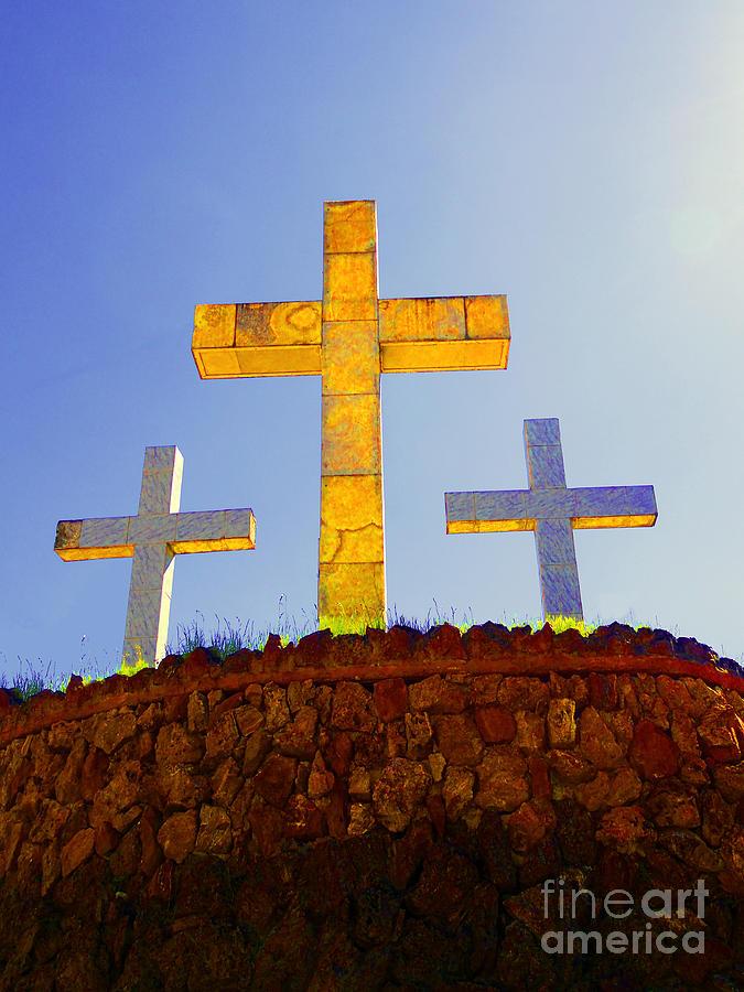 Al Bourassa Photograph - Crosses To Bear by Al Bourassa