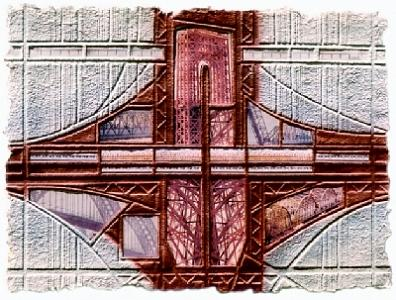Embossing Painting - Crossing by Tomchuk