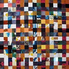Spiritual Painting - Crossing  by Mounir Lakkis