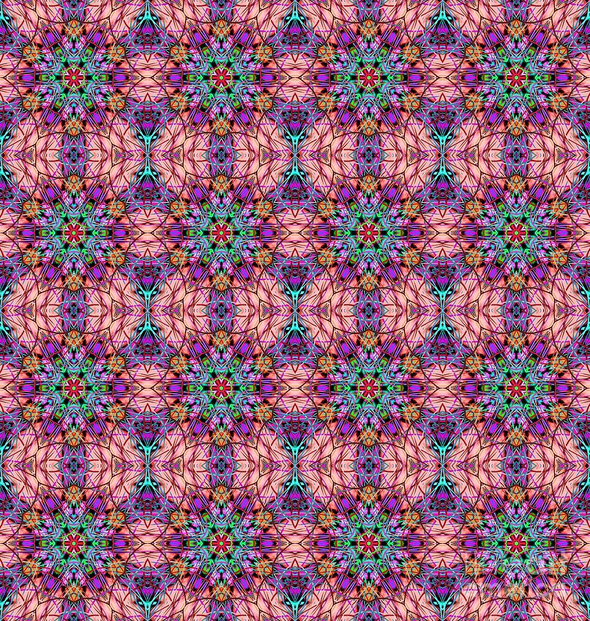 Crossing Paths - Textile Tapestry - Textile