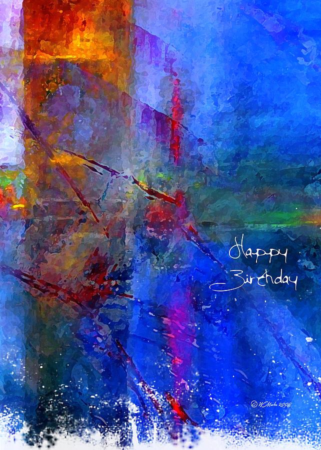 Crossroads 2 Birthday Card Digital Art by William Martin – Birthday Card Art
