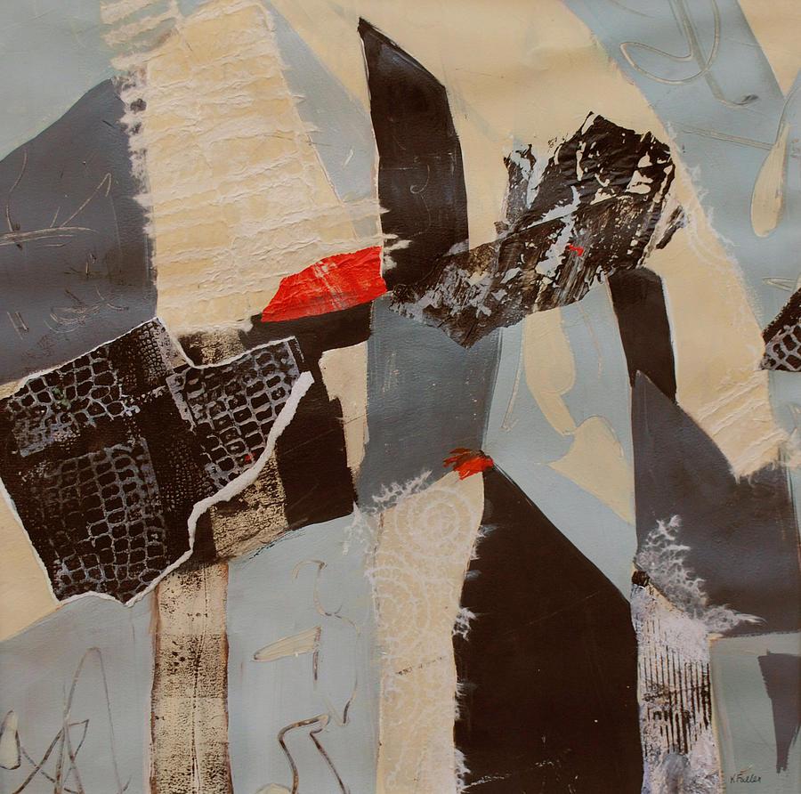 Bridge Painting - Crossroads by Kay Fuller