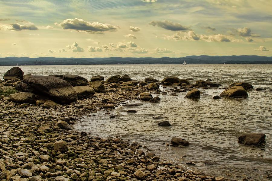 Croton Photograph - Croton Coastline by Alexander Mendoza