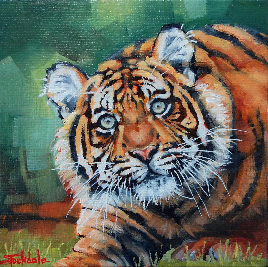 Crouching Tiger by Margaret Stockdale