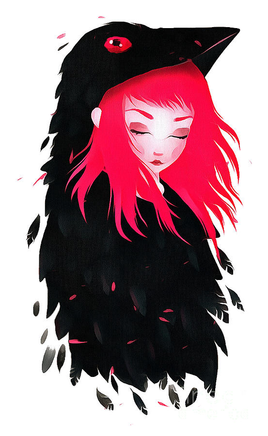 Crow Girl Redhair