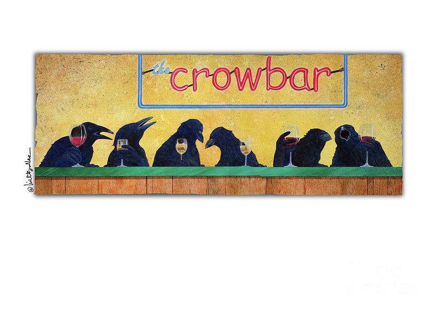 Will Bullas Painting - Crowbar by Will Bullas