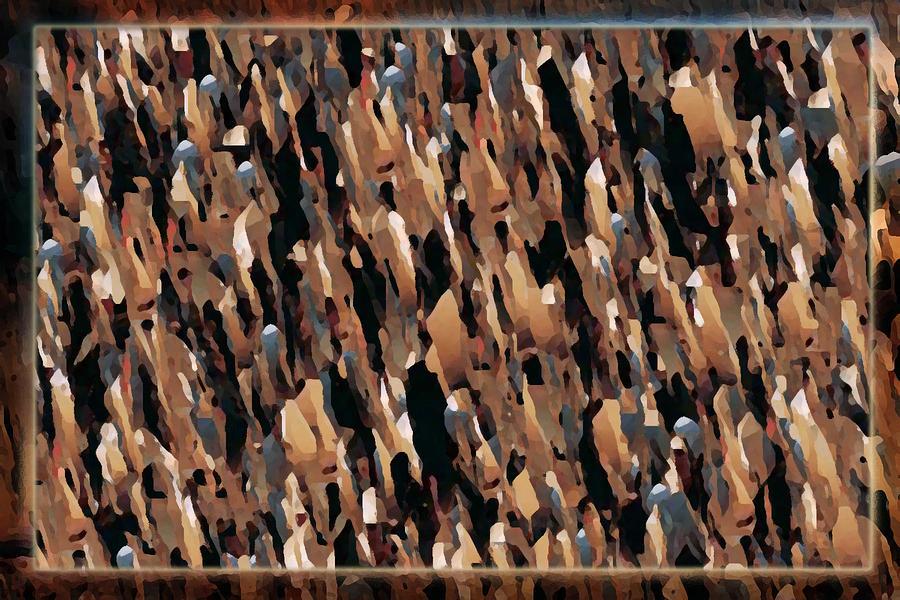 Abstract Digital Art - Crowed by Sir Gulamhusain