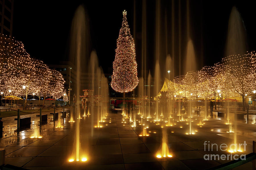 Christmas Photograph - Crown Center Christmas 2 by Dennis Hedberg