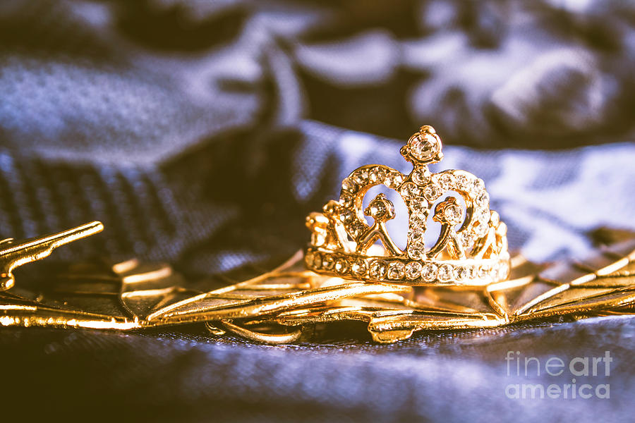 Monarch Photograph - Crowned Tiara Jewellery by Jorgo Photography - Wall Art Gallery