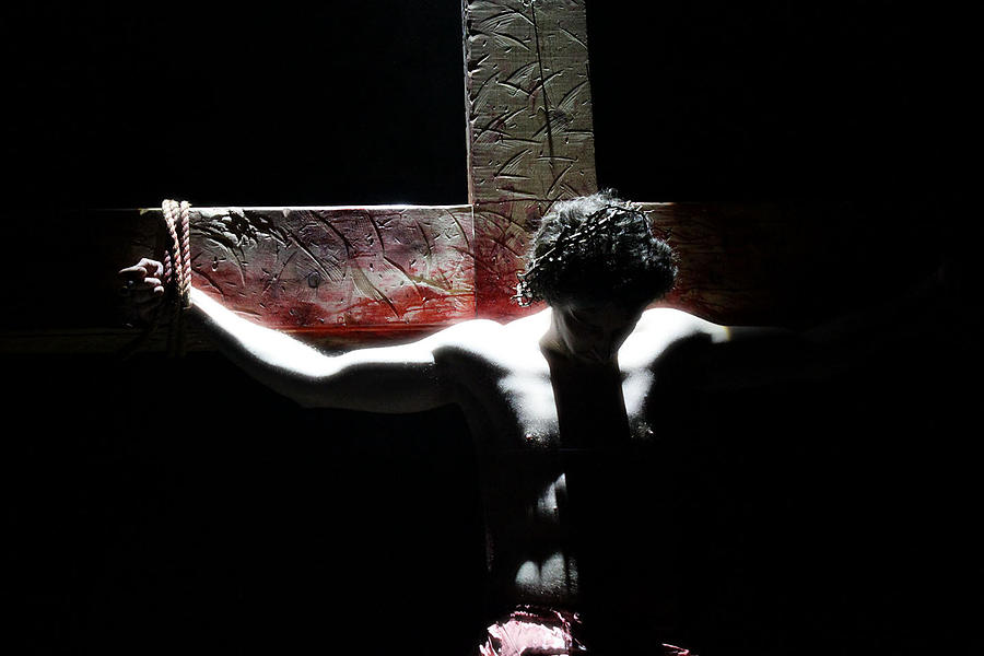 Christ Photograph - Crucified by Mark  France