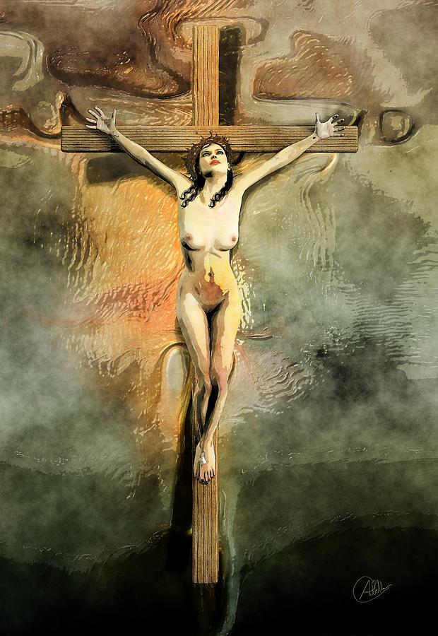 Dani Amore crucified women nude