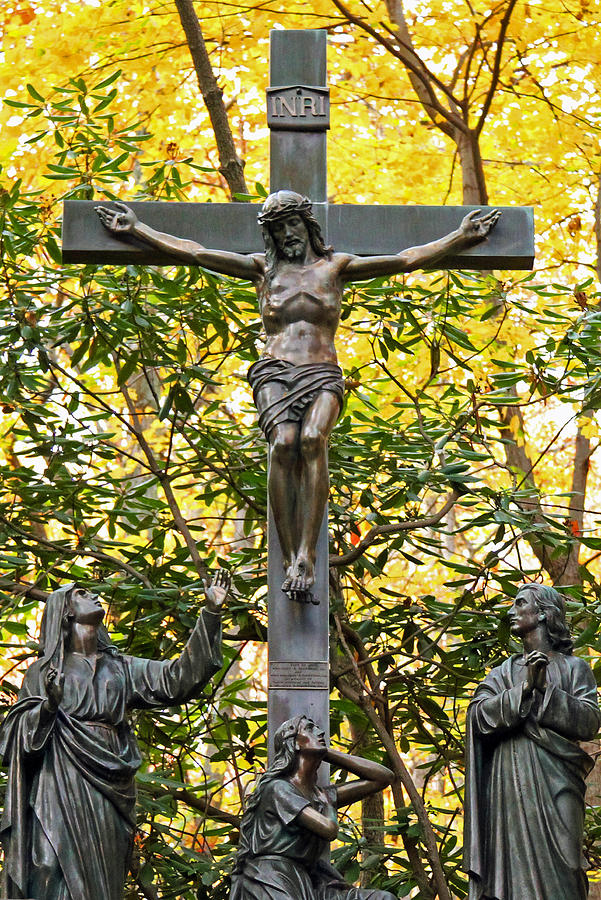 Jesus Photograph - Crucifixion by Mitch Cat