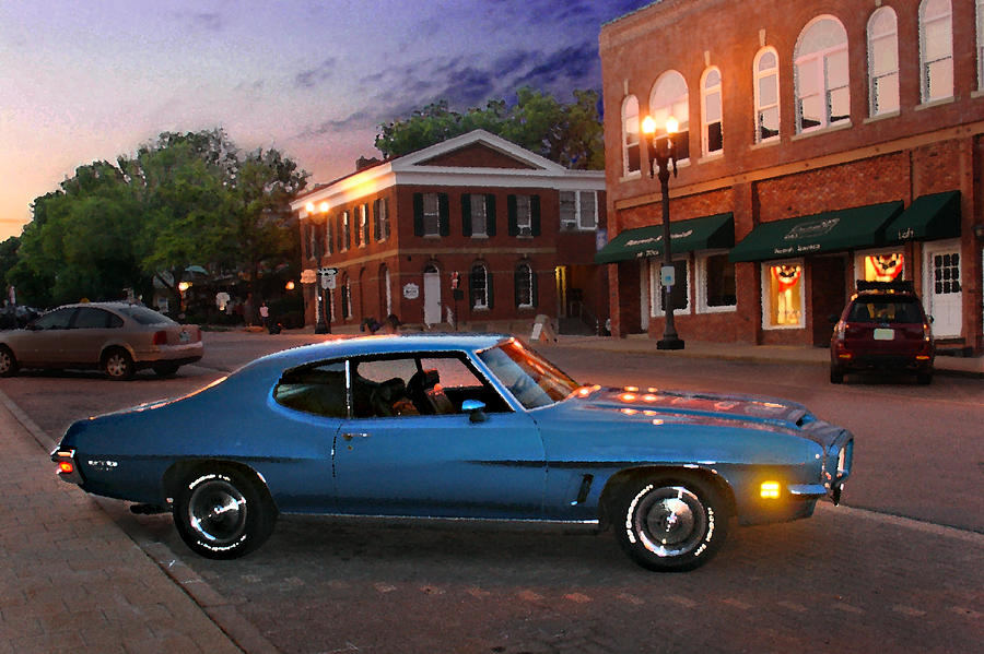 Classic Car Photograph - Cruise Night In Liberty by Steve Karol