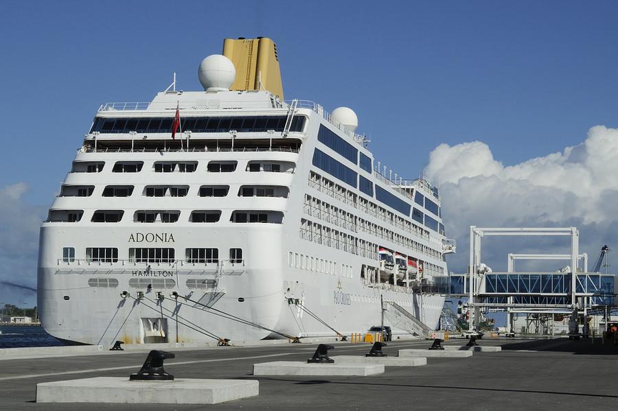 Cruise Ship Adonia At Port Canaveral Terminal One Photograph By - Cruise ships port canaveral
