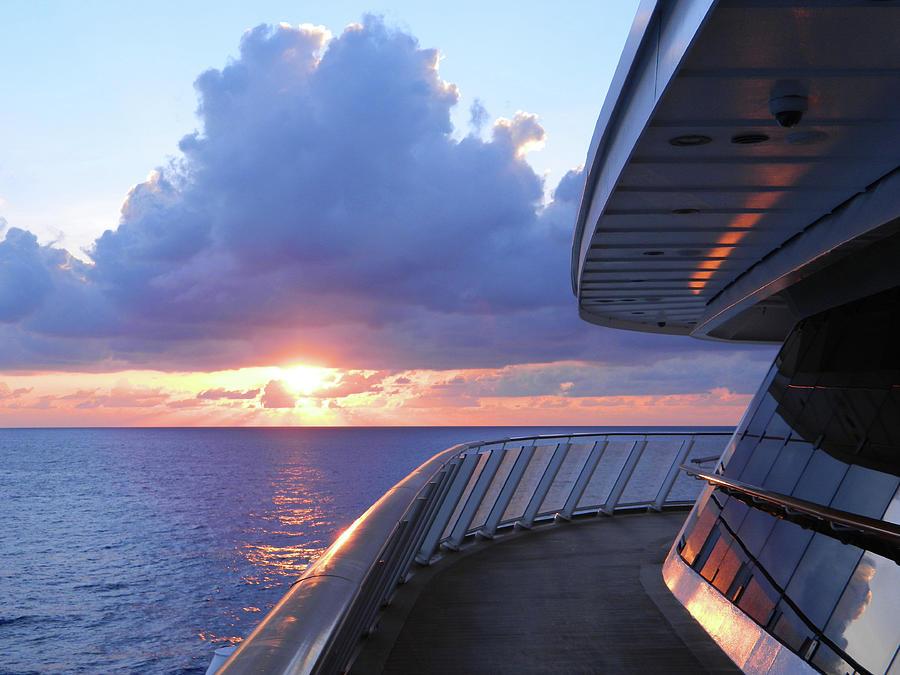 Cruising The Seas Photograph
