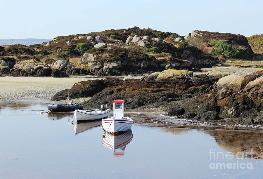 Cruit Island Beach Donegal Ireland by Eddie Barron