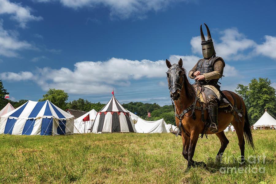 Denmark Photograph - Saddled Up For Battle, Denmark by Kim Petersen