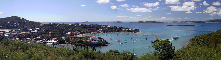 Cruz Bay Photograph - Cruz Bay by Gary Lobdell