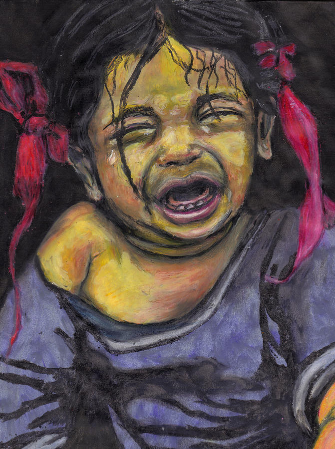 Baby Pastel - Cry Baby Cry by Jean Haynes