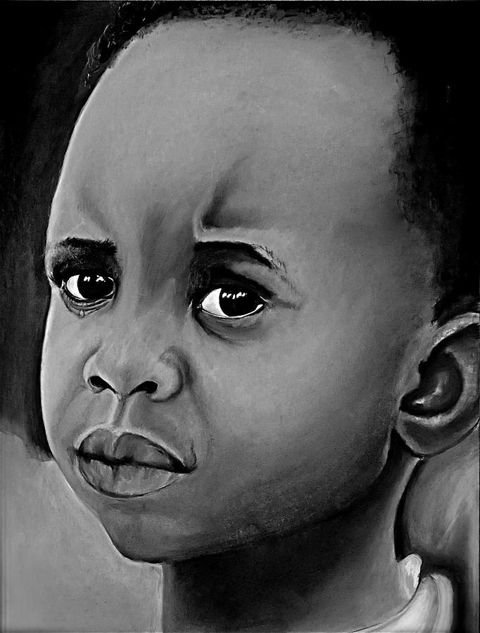 Crying Boy Drawing by Cristina Sofineti