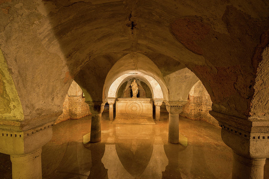 Image result for Crypt at San Zaccaria church