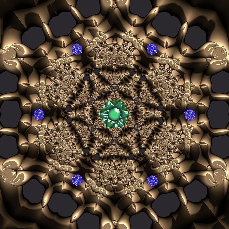 Light Digital Art - Crystal 22 by Robert Thalmeier