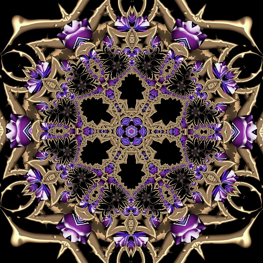 Light Digital Art - Crystal 613433 by Robert Thalmeier