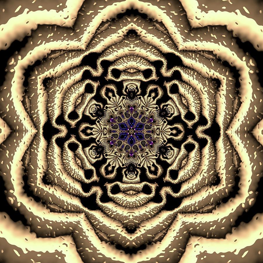 Light Digital Art - Crystal 613455 by Robert Thalmeier