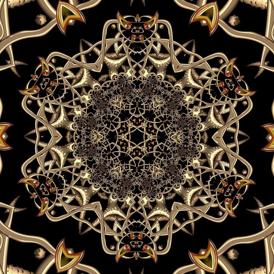 Light Digital Art - Crystal 61377 by Robert Thalmeier