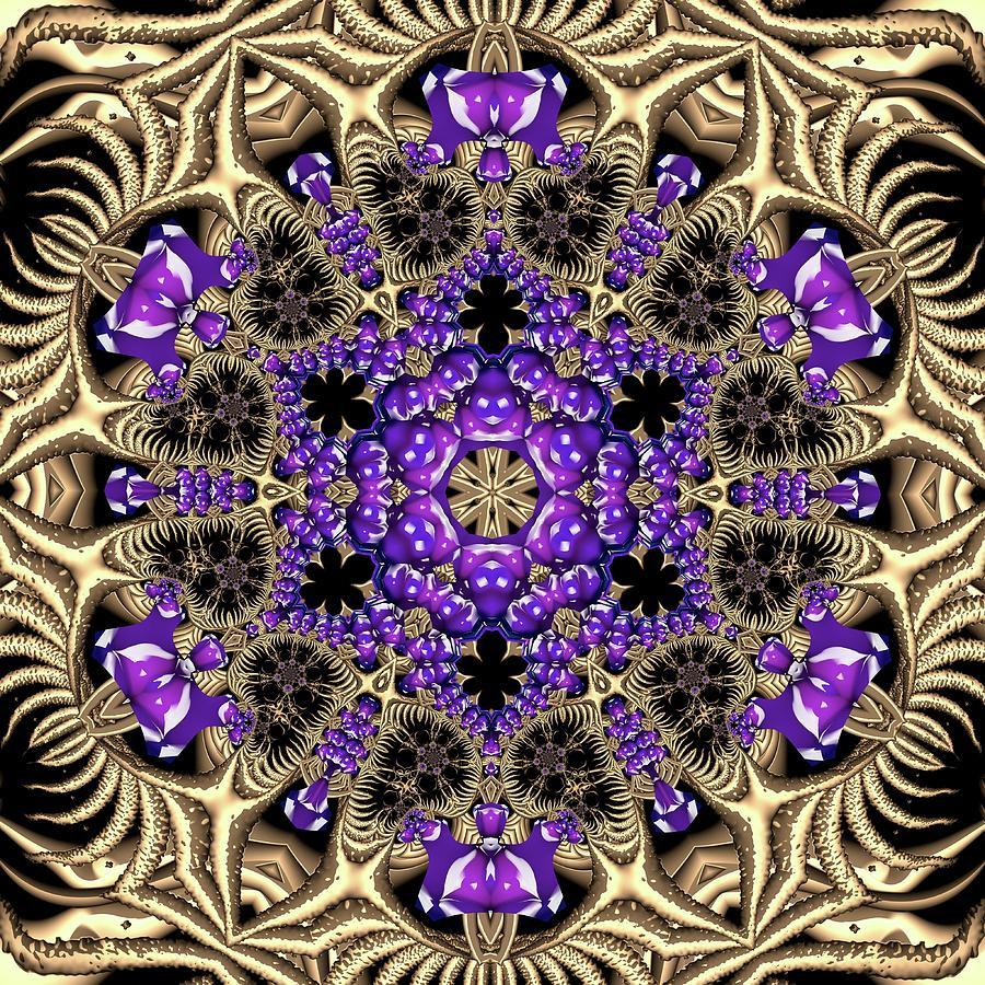 Light Digital Art - Crystal 6138 by Robert Thalmeier