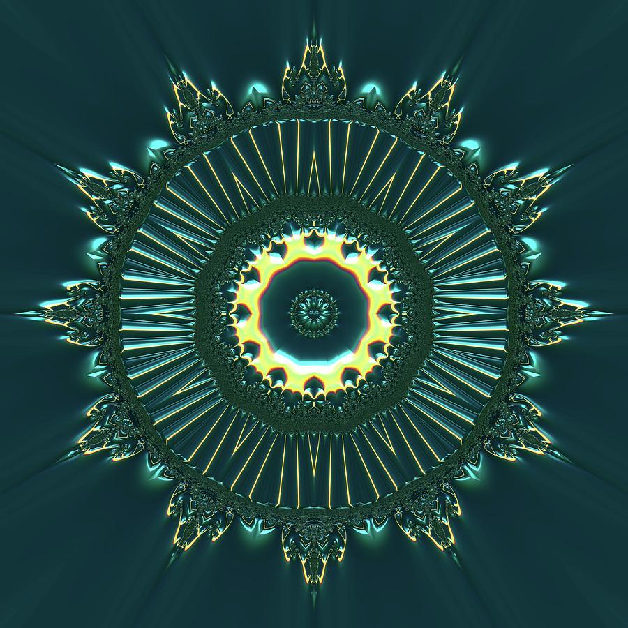 Light Digital Art - Crystal Ahau 657545 by Robert Thalmeier