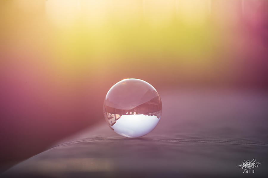 Sunset Photograph - Crystal Ball by Adnan Bhatti