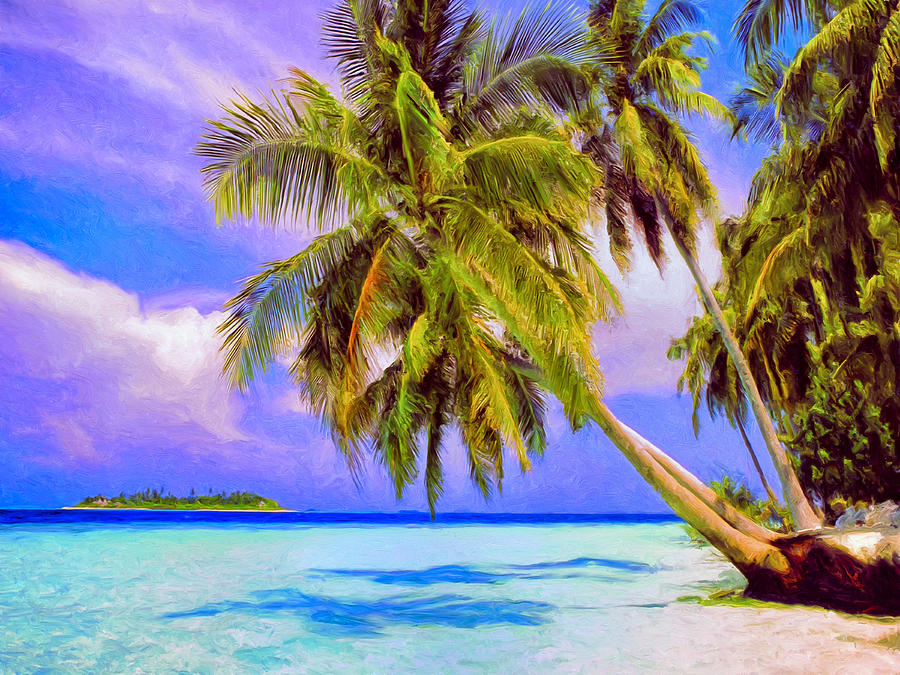 Tahiti Painting - Crystal Blue Persuasion by Dominic Piperata