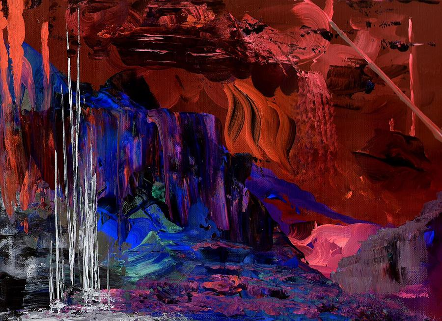 Cave Painting - Crystal Cave by Ginger Lovellette