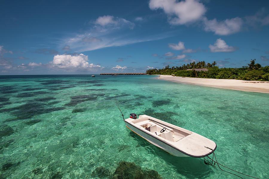 Maldives Photograph - Crystal Clarity. Maldives by Jenny Rainbow