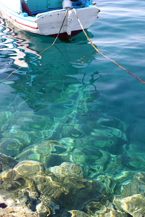 Greece Photograph - Crystal Clear by Yvonne Ayoub