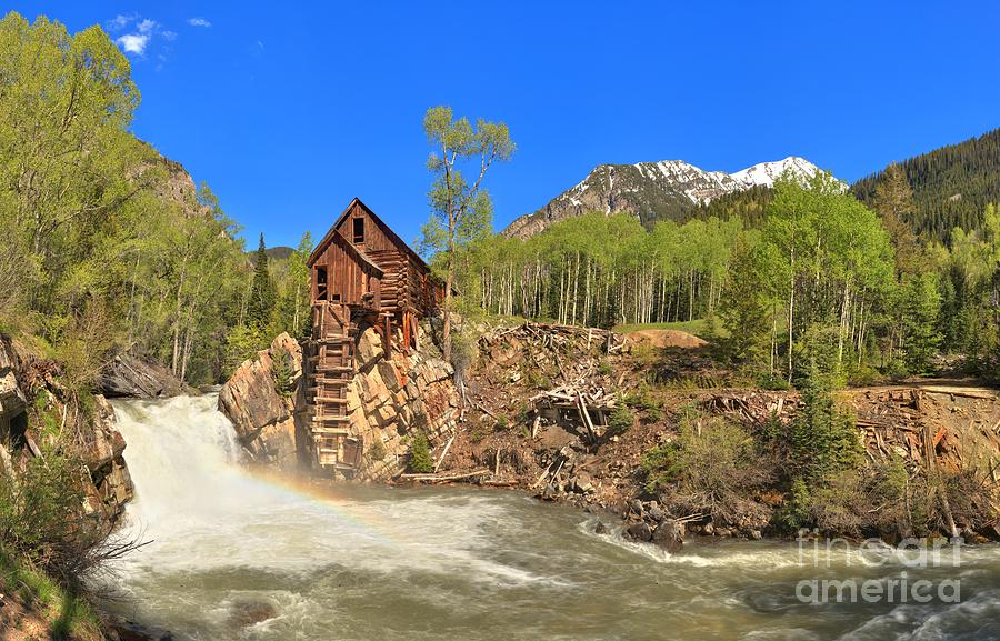 Crystal Colorado Dead Horse Mill Photograph By Adam Jewell