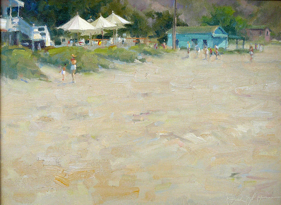 Crystal Cove Painting - Crystal Cove Laguna Beach by Frank LaLumia