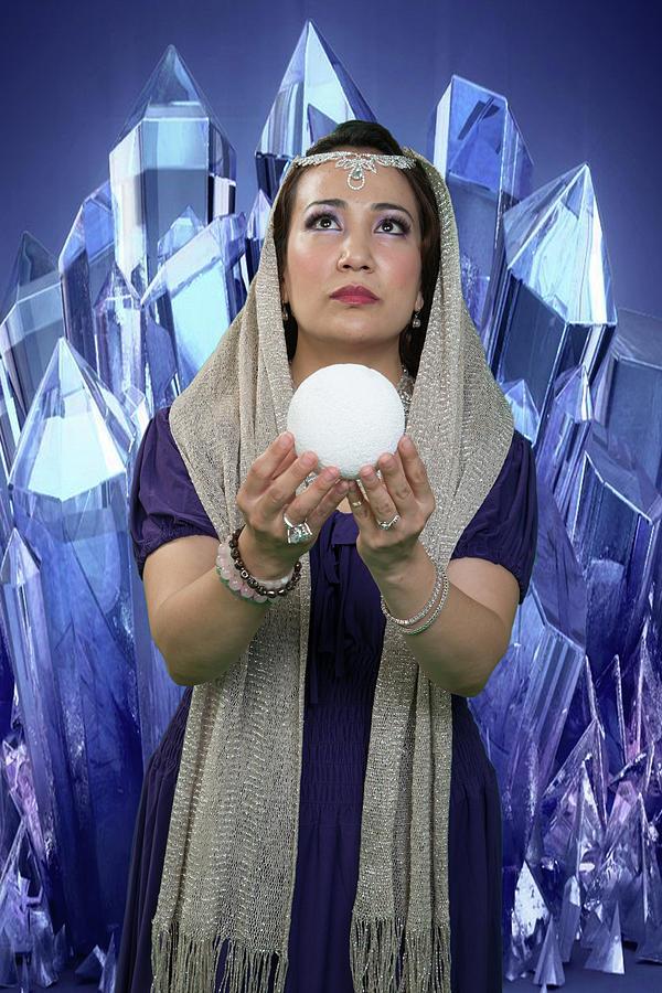 Crystal Goddess by David Clanton