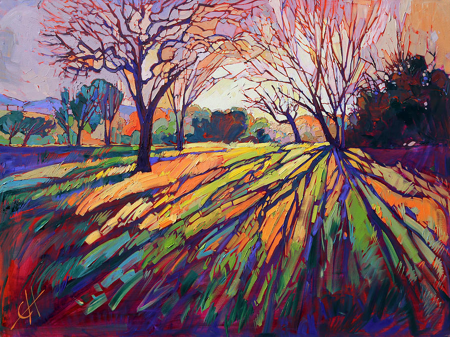 California Impressionism Painting - Crystal Light by Erin Hanson