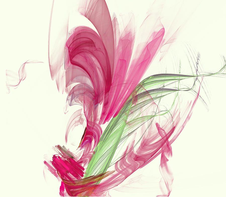 Crystal Lily Digital Art