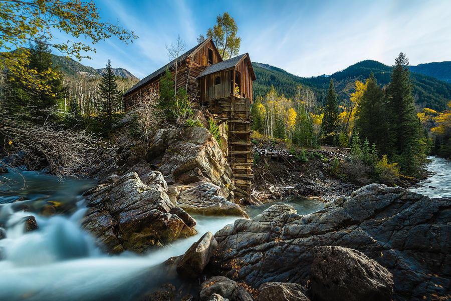 Crystal Mill by Chuck Jason