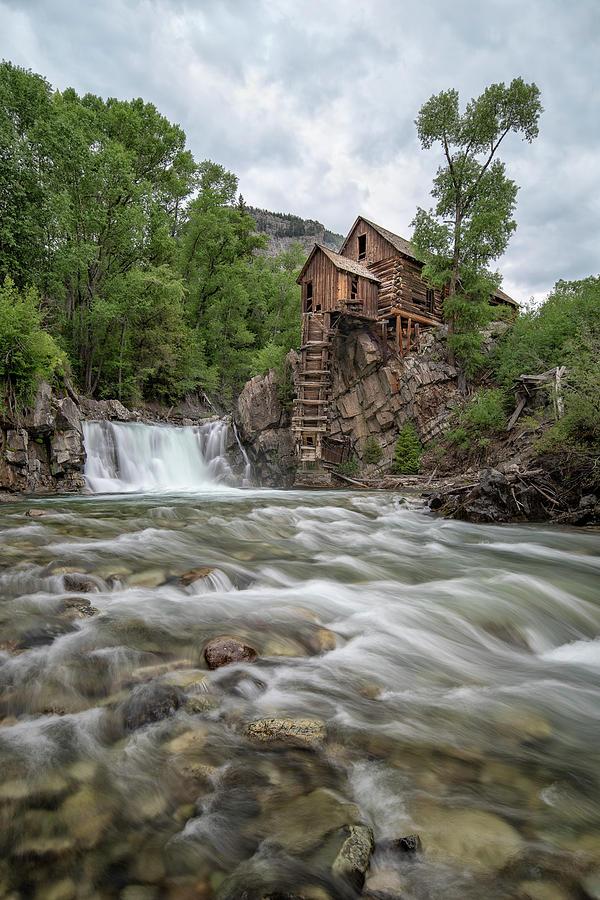 Crystal Mill Colorado 2 by Angela Moyer